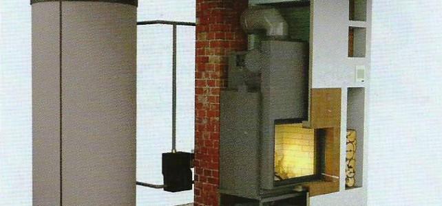 Teplovodný krb alebo pec – Riešenie pre pasívny dom